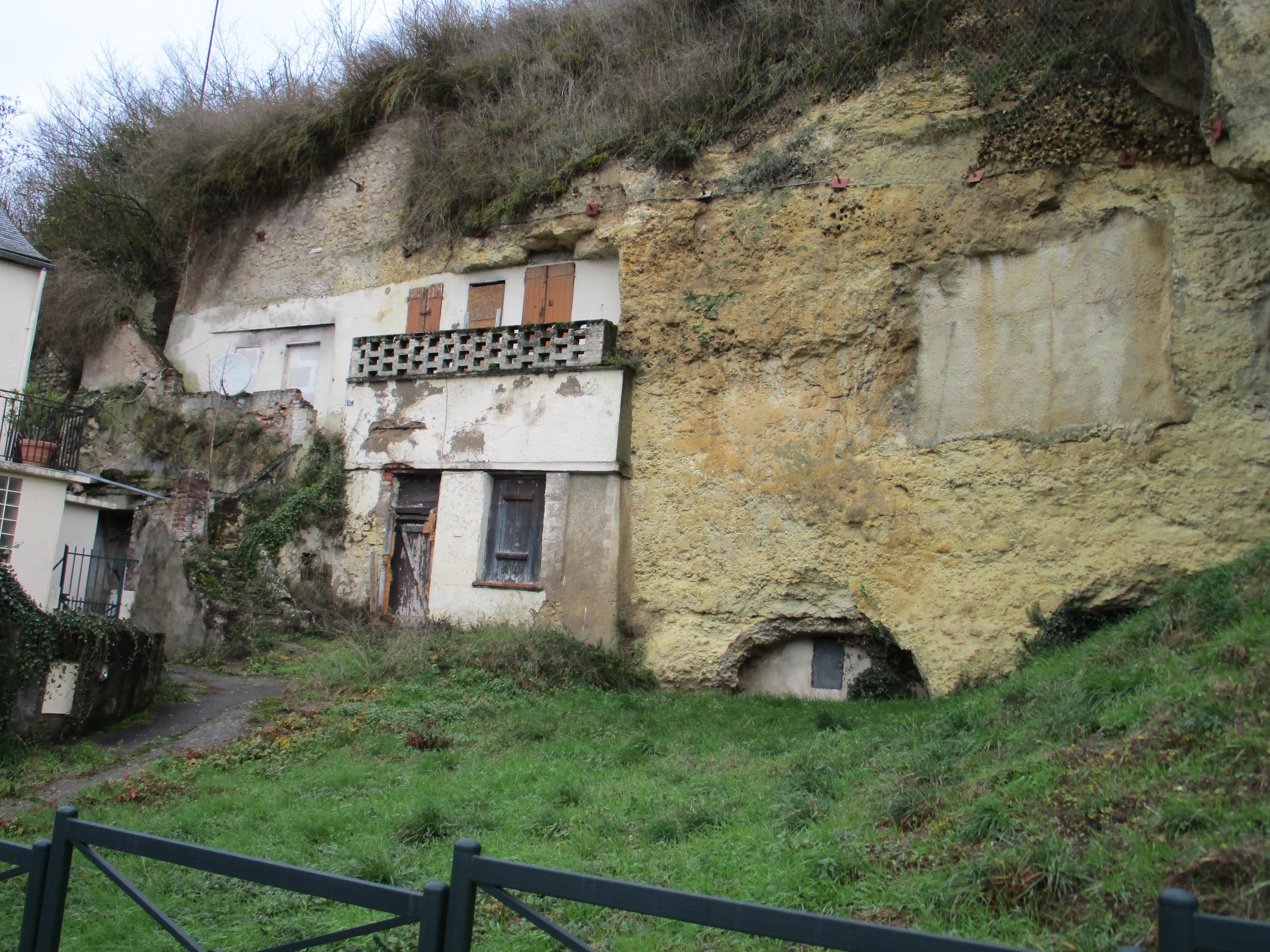 Cave house, Amboise, France