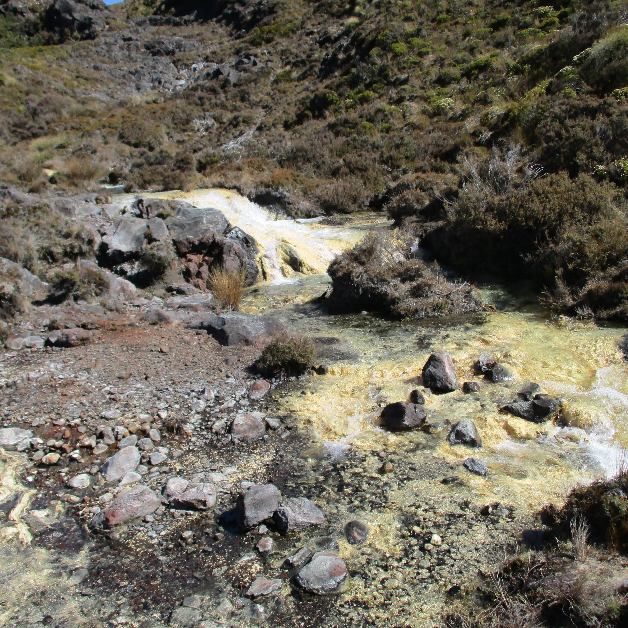 Silica-rapids, Tongariro National Park