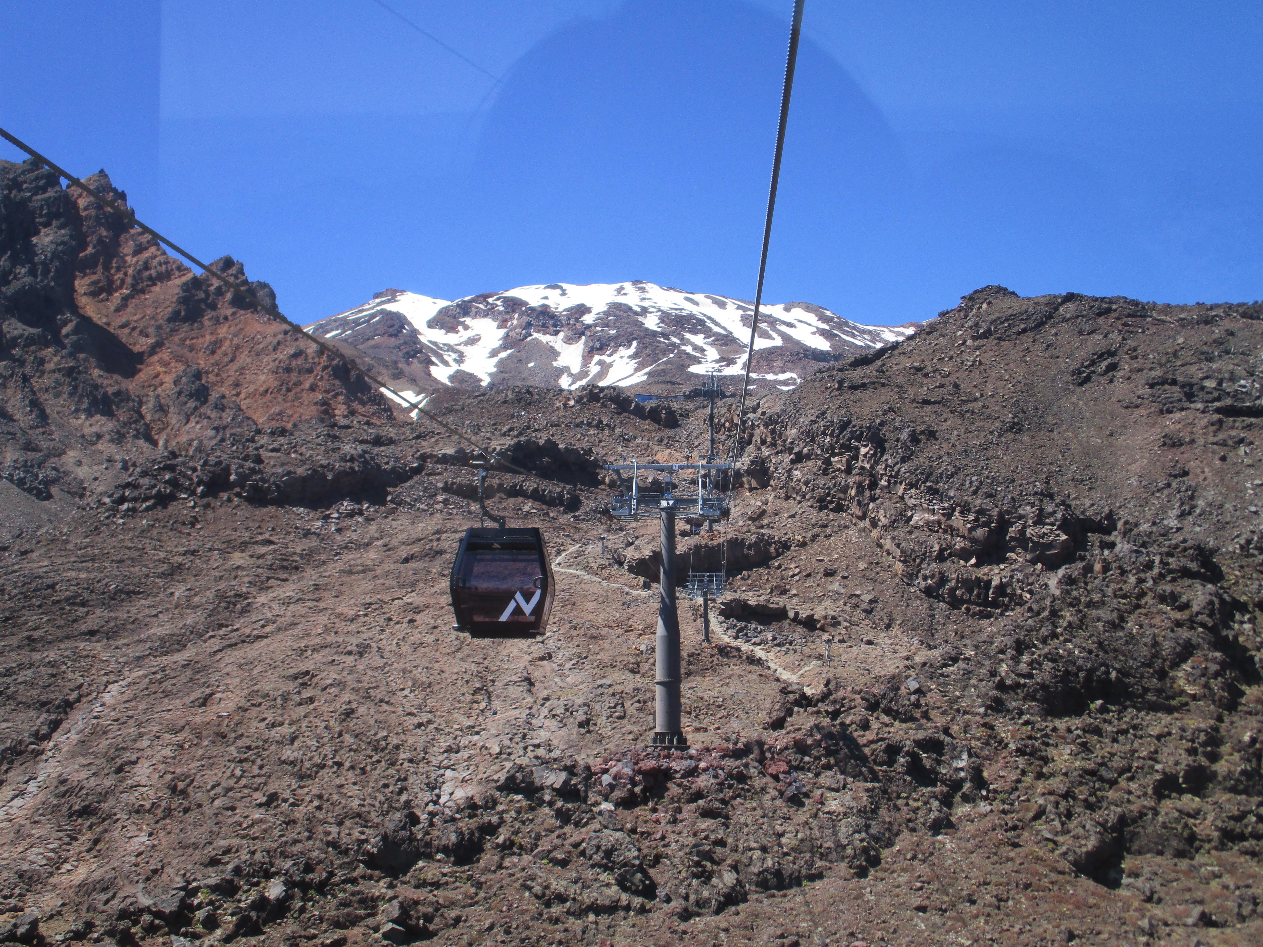 Sky-waka, Mt Ruapehu