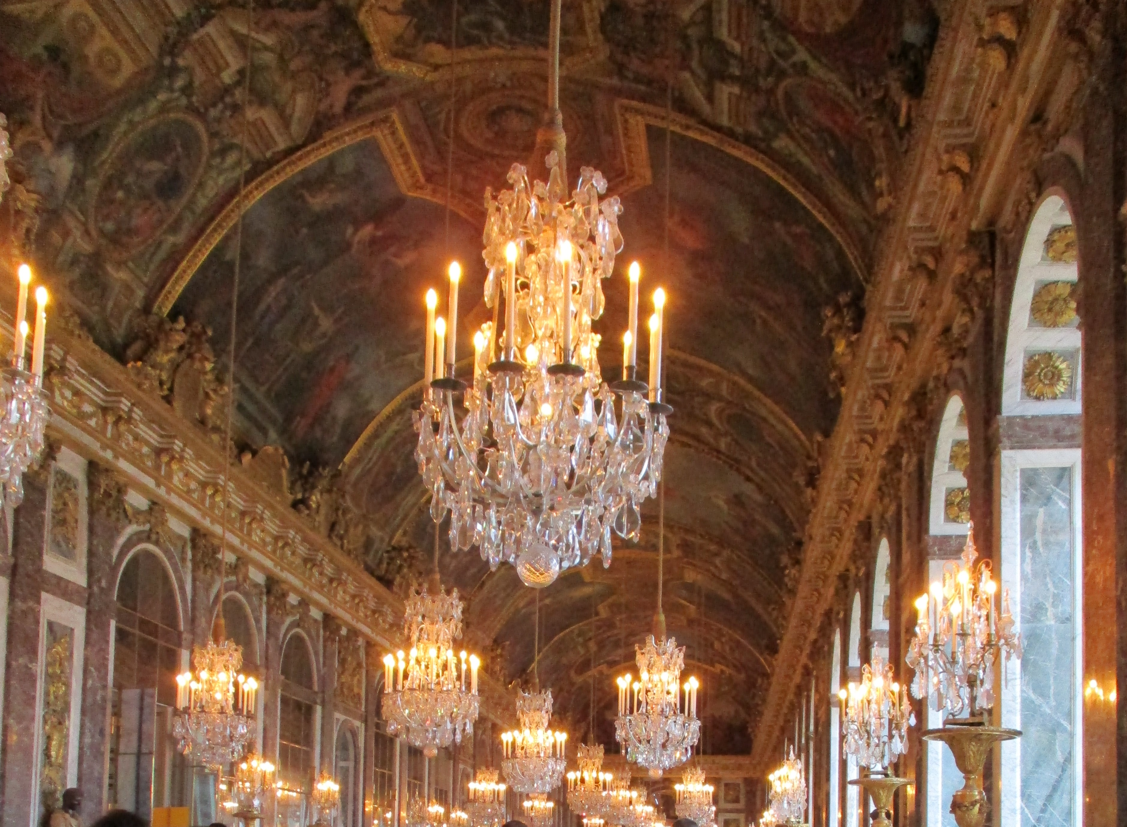 Hall of Mirrors, of Versailles