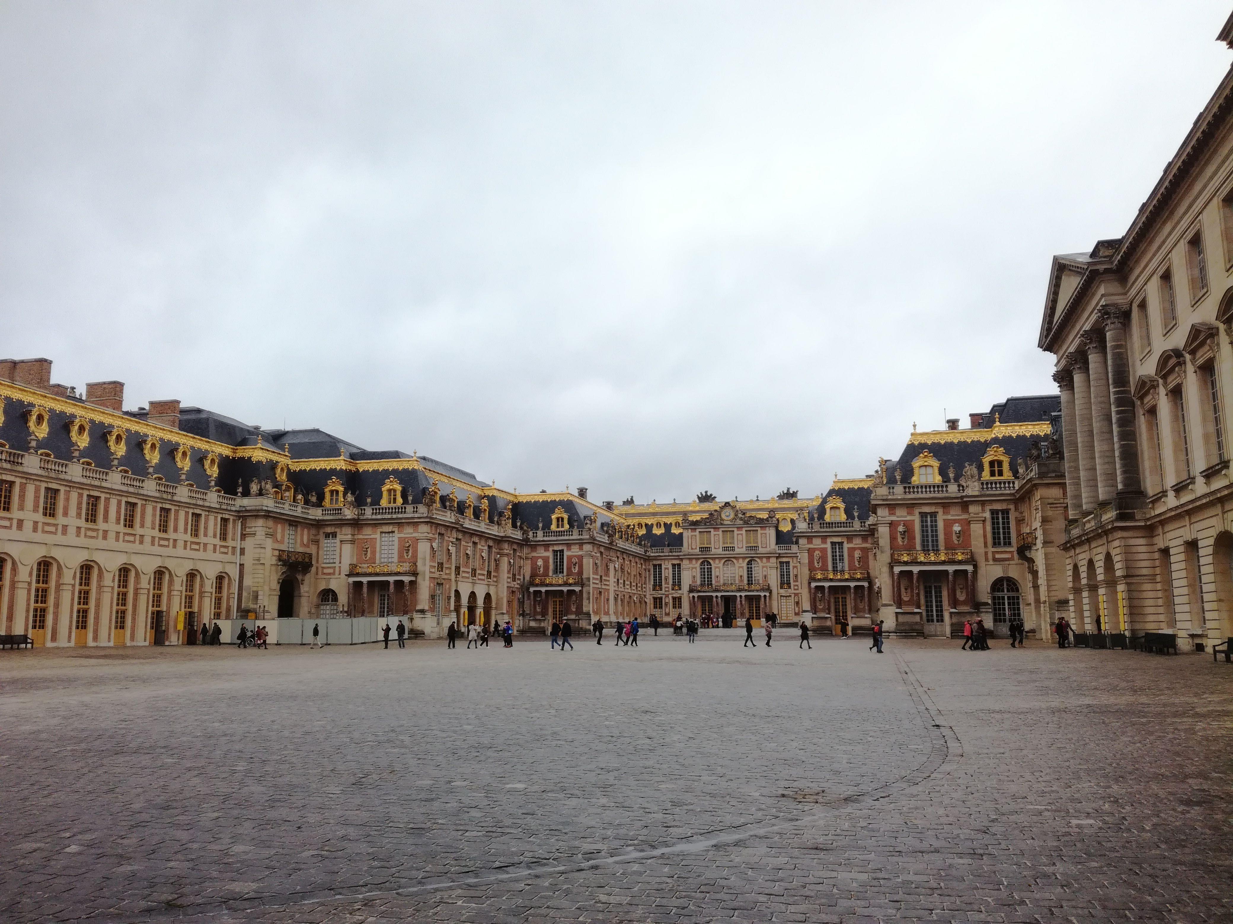 Courtyard of Versailles